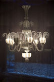 Luxury chandeliers Stock Images