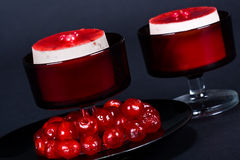 Luxury cheesecake Royalty Free Stock Images