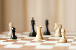 Luxury chess Royalty Free Stock Image