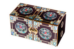 Luxury chinese box Stock Image