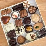 Luxury chocolate bonbons Royalty Free Stock Photo