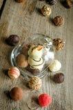 Luxury chocolate candies Stock Photo