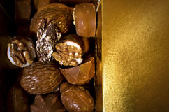 Luxury chocolate specialties Stock Image