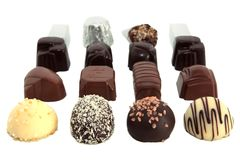 Luxury Chocolates 1 Royalty Free Stock Photos