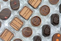 Luxury chocolates Royalty Free Stock Photography