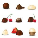 Luxury chocolates stock illustration