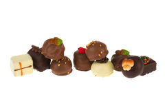 Luxury chocolates Stock Images