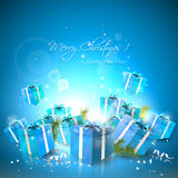 Luxury Christmas background Stock Images