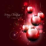 Luxury Christmas background Stock Photography