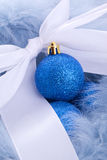 Luxury christmas ball ornament Stock Image