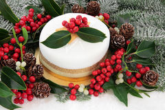 Luxury Christmas Cake Royalty Free Stock Photo