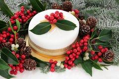 Luxury Christmas Cake Royalty Free Stock Photo