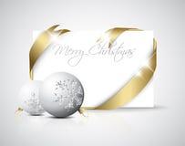 Luxury Christmas card Royalty Free Stock Image