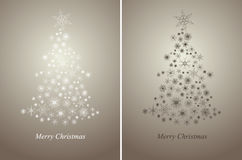 Luxury Christmas cards Stock Photos