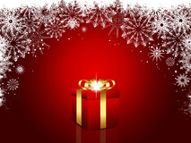 Luxury christmas gift Royalty Free Stock Image