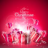 Luxury Christmas greeting card Stock Photos