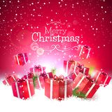 Luxury Christmas greeting card Royalty Free Stock Images