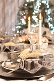 Luxury christmas table Royalty Free Stock Photography