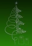 Luxury Christmas tree Stock Photos