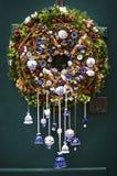 Luxury Christmas wreath Stock Photo