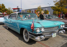Vintage American Classic Car, Cadillac, 50-60´S Stock Photography