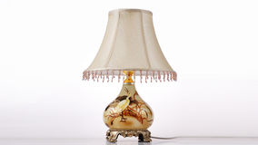 Luxury classic desk lighting Stock Photo