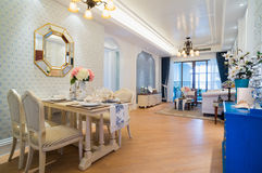 Luxury classic home interior Royalty Free Stock Photography