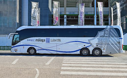 Luxury Coach - Bus Commuter Travel And Transport Stock Images
