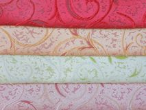 Luxury color fabric Royalty Free Stock Photo