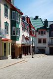 Luxury colored place at Mont-Tremblant Royalty Free Stock Photos