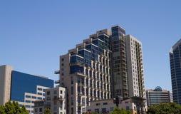 Luxury Condo. Miniums in downtown San Diego royalty free stock photo