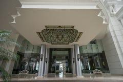 Luxury condo entrance in Panama Stock Image