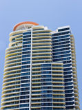 Luxury condominium building in Miami Stock Image