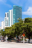 Luxury condominium-buildings in miami Stock Photo