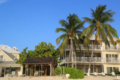Luxury condominium located on the Seven Miles Beach at Grand Cayman Royalty Free Stock Photography