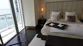 Luxury condominium walkthrough stock footage