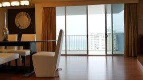 Luxury condominium walkthrough stock video