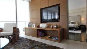 Luxury condominium walkthrough stock video footage