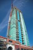 Luxury condominiums. Under construction in Calgary, AB Stock Photos