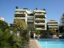Luxury Condominiums in Athens. Greece royalty free stock images