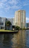 luxury condominiums in Fort Lauderdale,Florida Stock Images