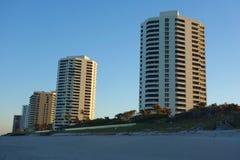 Luxury condominiums at Singer Island, Florida. RIVIERA BEACH, FLORIDA - MARCH 20, 2018: Luxury condominiums at Singer Island, Fl. Singer Island an oceanfront Royalty Free Stock Image