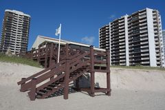 Luxury condominiums at Singer Island, Florida Stock Photography