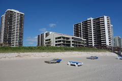 Luxury condominiums at Singer Island, Florida Royalty Free Stock Images