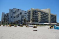 Luxury condominiums at Singer Island, Florida. RIVIERA BEACH, FLORIDA - MARCH 20, 2018: Luxury condominiums at Singer Island, Fl. Singer Island an oceanfront Stock Photography
