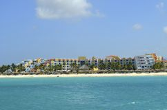 Luxury Condos in Aruba Stock Photography