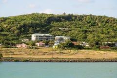 Luxury Condos on Coast of Antiqua Royalty Free Stock Images