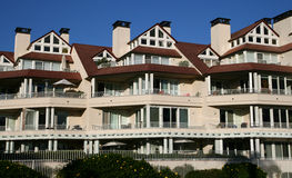 Luxury Condos - Coronado, California Royalty Free Stock Photos