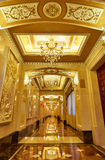 hotel corridor hallway Royalty Free Stock Photo