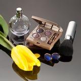 Luxury cosmetics set Stock Photo